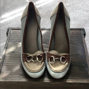 Suede Gucci Heels